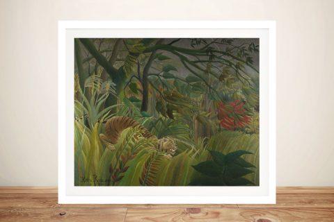 Surprised! Classic Rousseau Wall Art Print