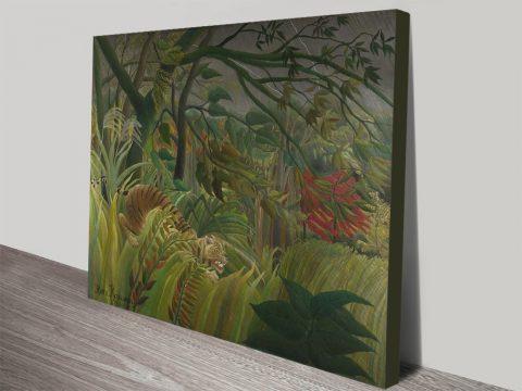 Rousseau Jungle-Themed Canvas Prints Online