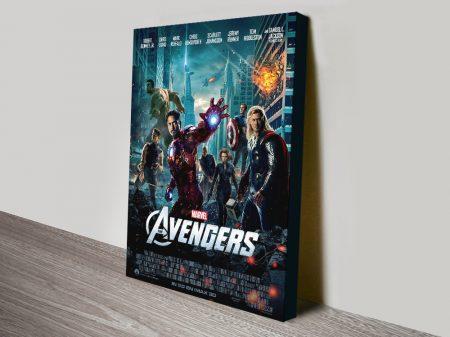 Buy The Avengers Movie Poster Print