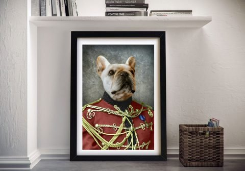 The Colonel Pet Portrait Great Gifts Online
