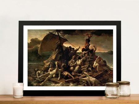 The Raft of the Medusa Framed Wall Art