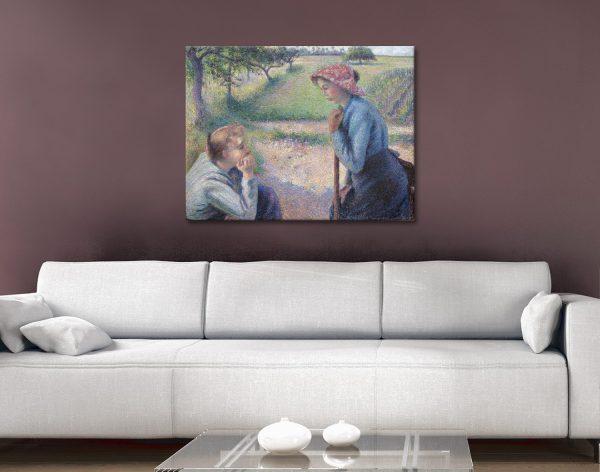 Ready to Hang Camille Pissarro Portrait Prints