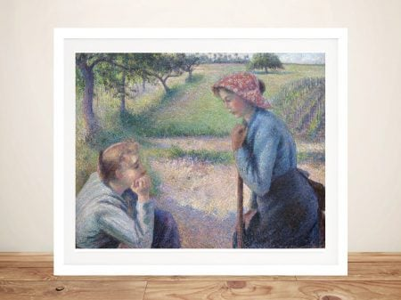 Two Young Peasant Women Classic Wall Art