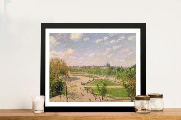 The Garden of Tuileries Camille Pissarro Print