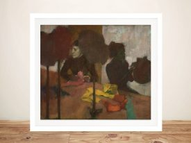 The Milliners Framed Print on Canvas