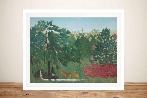 Buy The Waterfall Henri Rousseau Classic Art