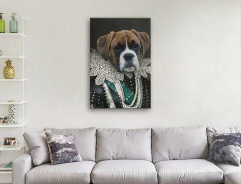 Get Unique Ready to Hang Pet Portraits AU