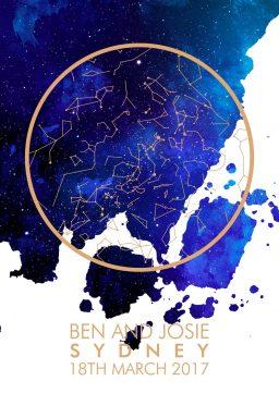 Create Star Map Art Online