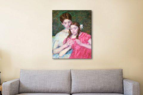 Woman & Girl Affordable Mary Cassatt Art