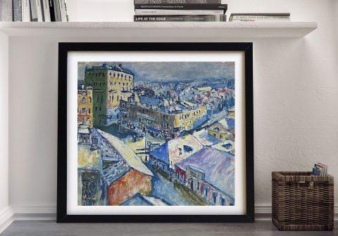 Framed Zubovsky Platz Print on Canvas AU