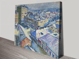 Buy a Kandinsky Print on Canvas of Zubovsky Platz
