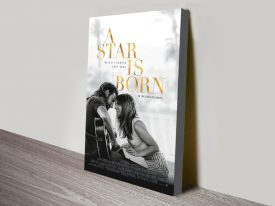 a star is born canvas print