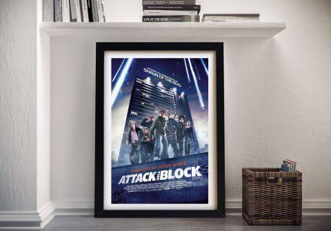 Attack the block Framed Wall Art