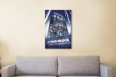 attack the block canvas artwork
