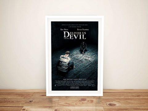 Deliver Us From Evil Movie Poster Framed Print