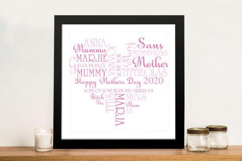 Mothers Day Art Gift Idea Australia