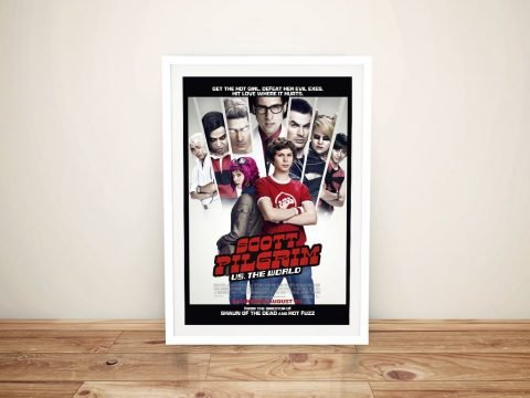 scott pilgrim vs the world Framed Wall Art