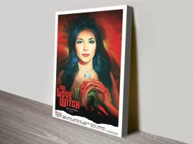 the love witch canvas print