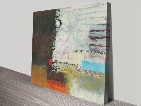 Autumn Lines l Stretched Canvas Prints Online