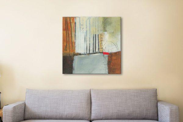 Autumn Lines II Abstract Art Great Gift Ideas AU