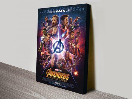 Avengers Infinity War IMAX Movie Poster