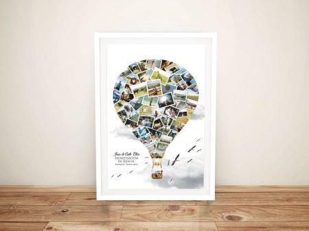 Balloon Photo Collage Print on Canvas