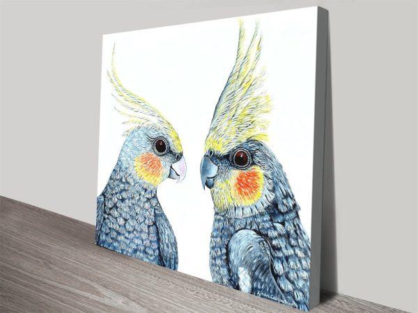 Stretched Canvas Australian Wildlife Artwork