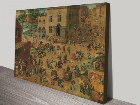Children's Games Classic Pieter Bruegel Art