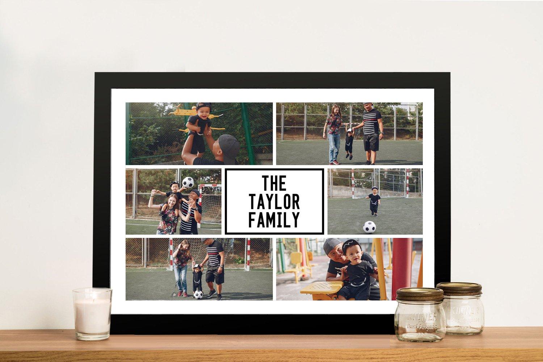 Get Framed Photo Collage Canvas Art AU