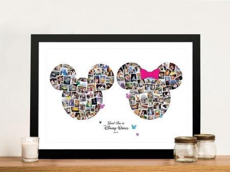 Mickey & Minnie Custom Photo Collage