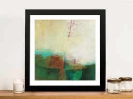 Fields of Colour X Abstract Print on Canvas