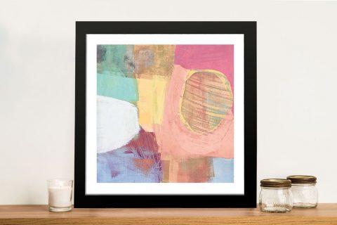 Fun Colours II Cool Chromatic Canvas Print