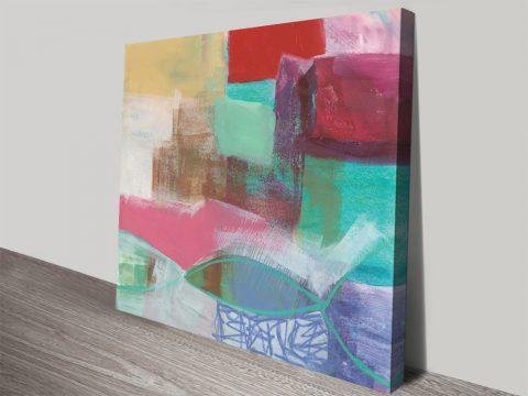 Fun Colours I Jane Davies Canvas Prints