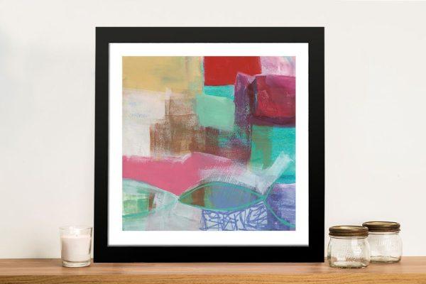 Fun Colours I Framed Canvas Wall Art