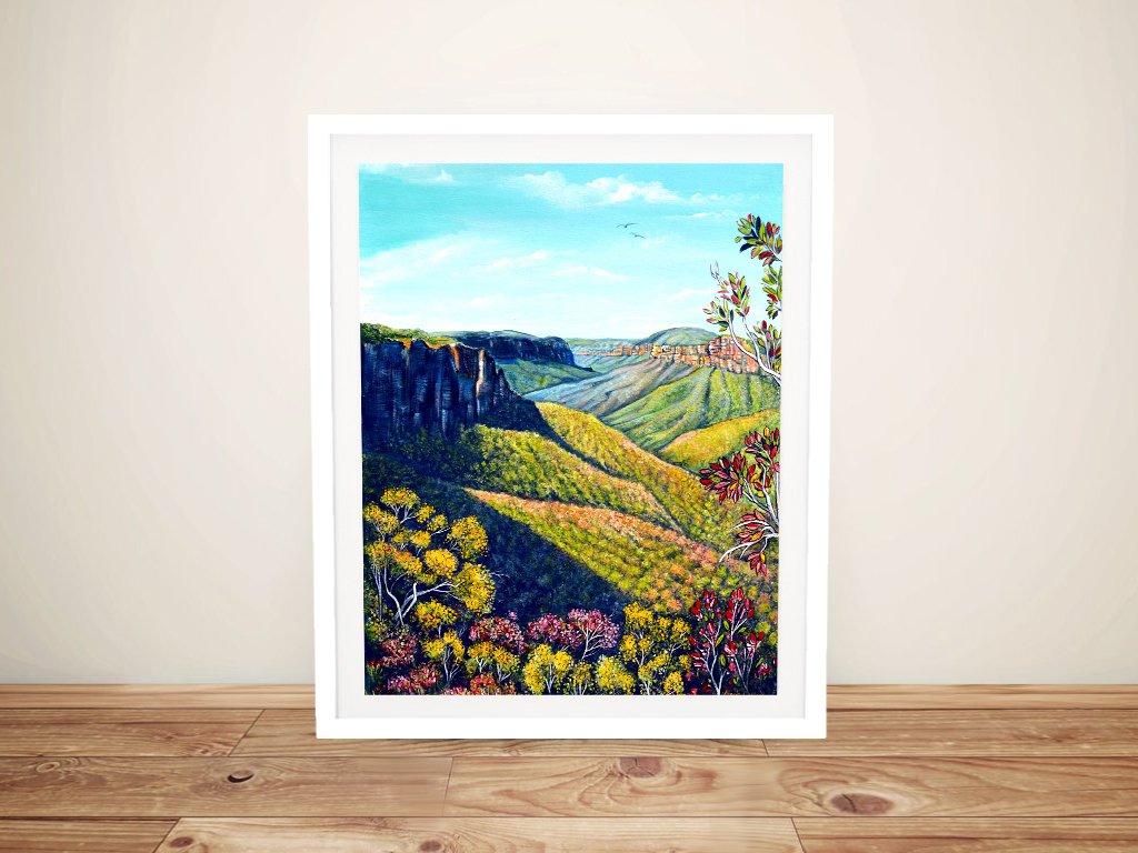 Govetts Leap Landscape Art Great Gift Ideas AU