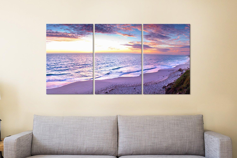Jindalee Sunset 3 Panels Canvas Art