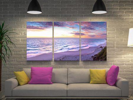 Buy a Jindalee Sunset 3-Piece Art Set