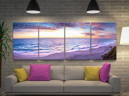 Jindalee Sunset 4-Piece Wall Art