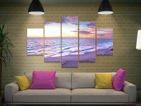 Jindalee Sunset 5-Panel Canvas Wall Art