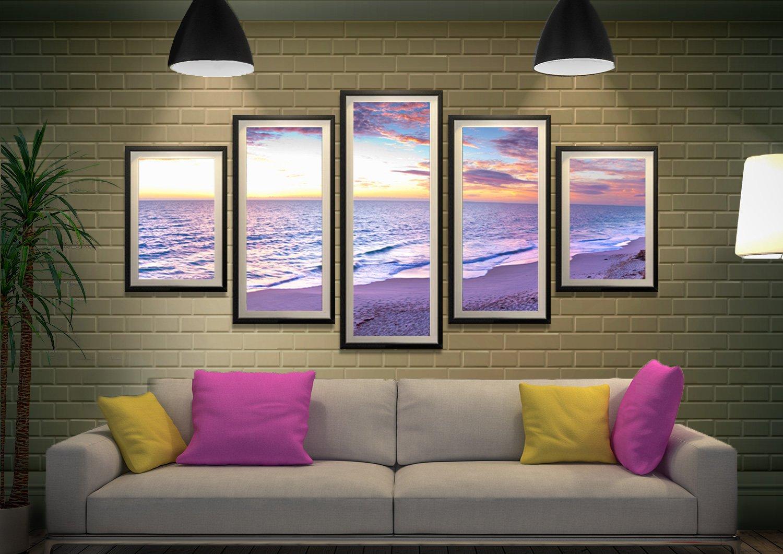 Jindalee Sunset 5-Piece Framed Art