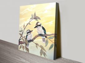 Kookaburra Magic Australian Wall Art