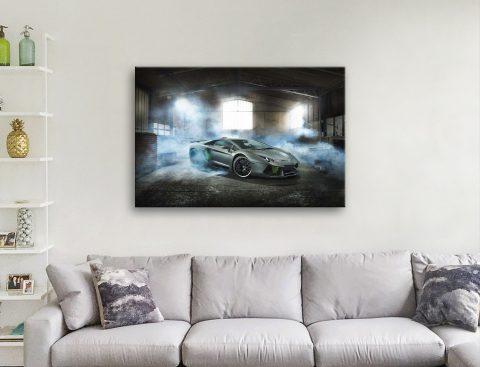 Ready to Hang Automotive Wall Art AU