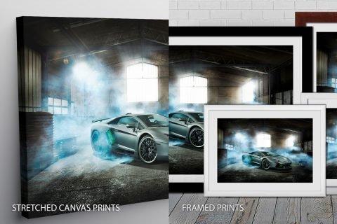 Lamborghini Quality Art Print