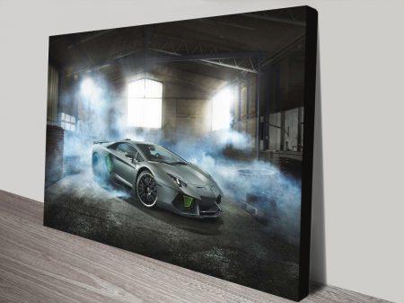 Buy a Lamborghini Print on Canvas