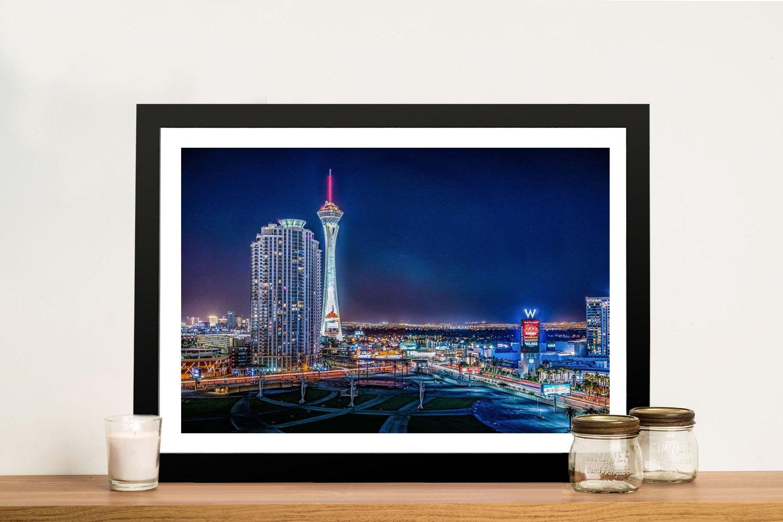 Framed Las Vegas Art Great Gift Ideas Online