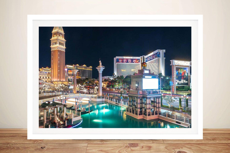 Las Vegas Strip Affordable Wall Art