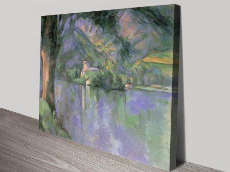 Le Lac d 'Annecy Classic Canvas Prints