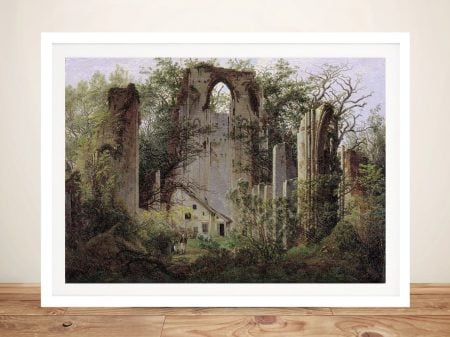 Framed Print of Monastery Ruin Eldena