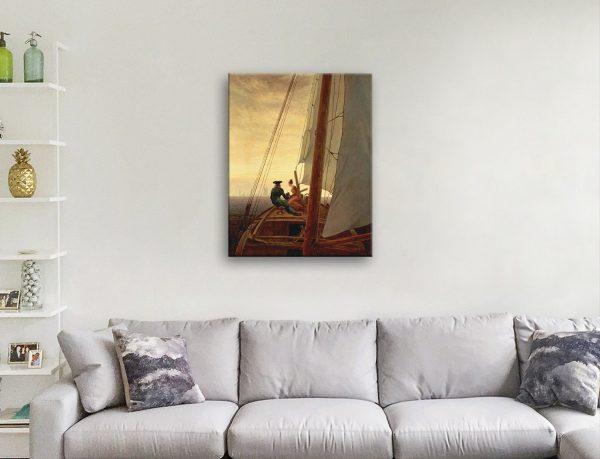 On a Sailing Ship Wall Art Home Decor AU