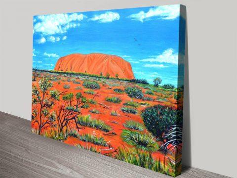 Uluru Linda Callaghan Australian Wall Art